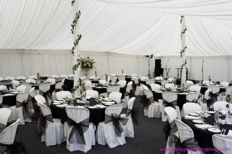 Wedding decor ideas 2012 Black and White decors A black and white wedding