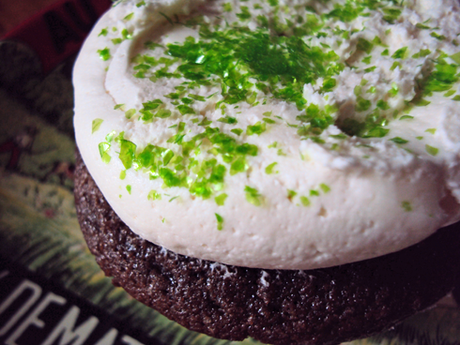 March cupcake: Irish Car Bomb