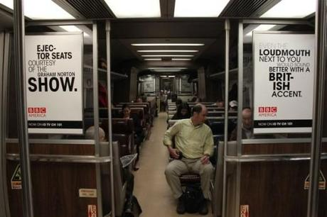 BBC America Train Ads
