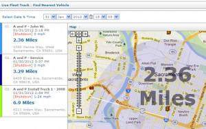 "Time Saving ""Live Fleet"" Tools – Part 2: Find Nearest Vehicle"