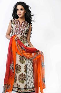 Shamaeel Sitara Premium Lawn 2012 Collection With Humaima Malik