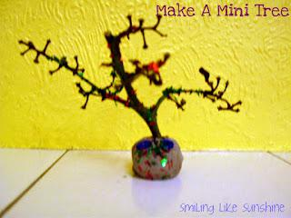 How to make  a mini tree