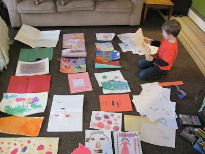 Intro.: Archiving Your Child's Artwork Series