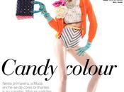 Dani Seitz Candy Colour Photographed Benjamin Kanarek VOGUE Portugal, April 2012