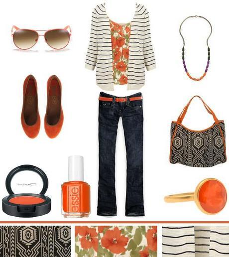 Tribal + Floral + Stripes…