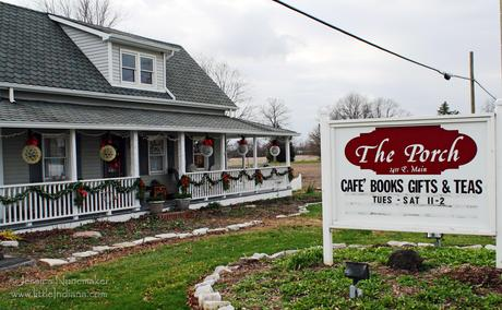 The Porch Cafe and Books in Danville, Indiana
