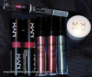 Newest Additions to My NYX Collection