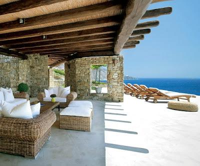 Modern Mykonos weekend retreat