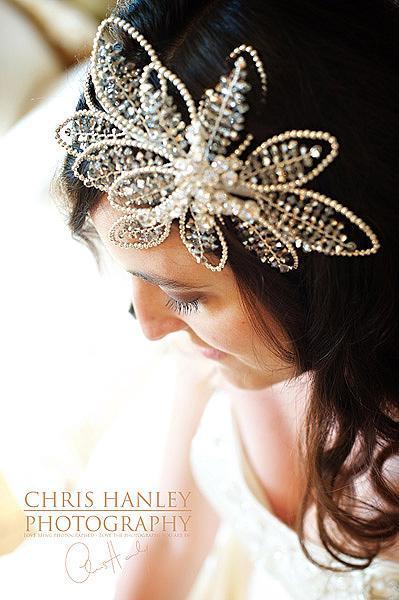 sparkly wedding accessory