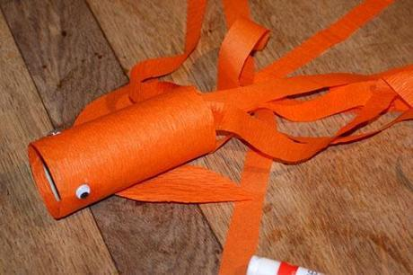 Crepe Paper Goldfish