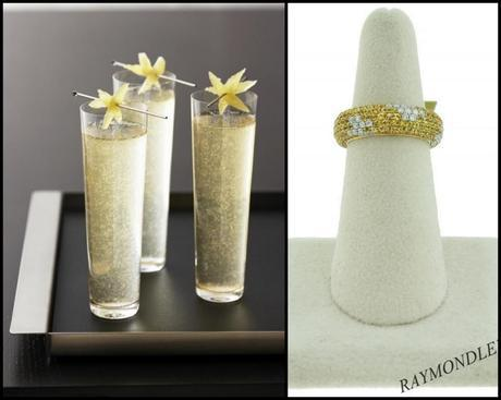 grey goose, le fizz, yellow diamond, yellow sapphire, ring, boca raton, eternity ring, raymond lee jewelers