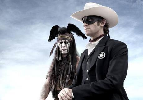 The Lone Ranger: Johnny Depp and Armie Hammer First Look