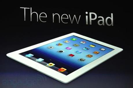 We're giving away one of the new iPads!  Yes, an iPad!