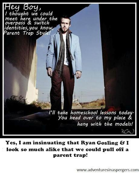 The Ryan Gosling Trap! {My Contribution To Special Needs Ryan Gosling}