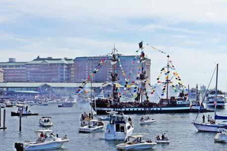 The usual Friday dinner and Gasparilla Fest :)