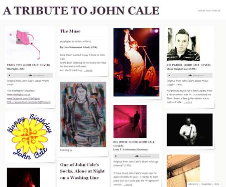 A Tribute to John Cale