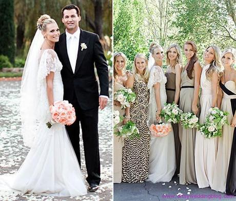 Top Celebrity Wedding Dresses - Paperblog