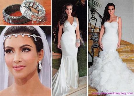 Top Celebrity Wedding Gowns I fell in Love with It was an ivory georgette