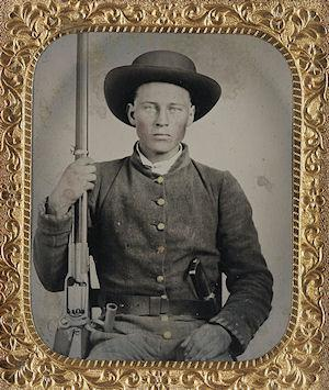 Young Faces Of The American Civil War