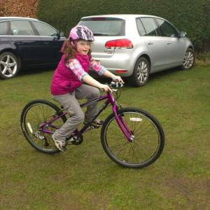 Holly's 3rd Isla Bike !