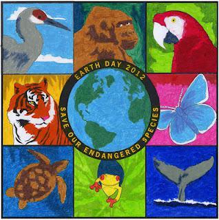 Earth day 2012 mural paperblog for Earthrise mural