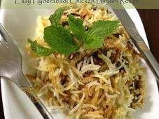 Easy Hyderabadi Chicken Biryani Recipe