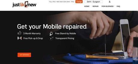 JustLikeNew.in : Online Mobile Repair Service