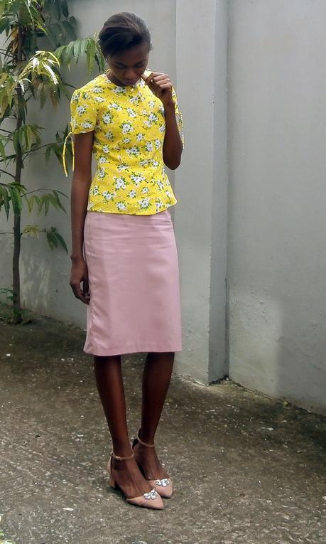 Work Style // Lemons and Pinks