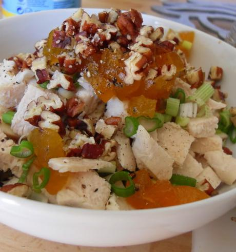 A Fruity Chicken Salad with Crunch