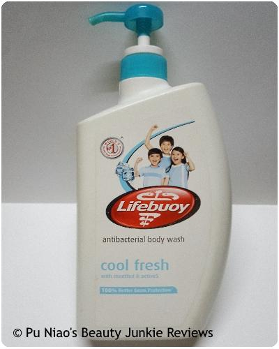Lifebuoy Antibacterial Body Wash Cool Fresh
