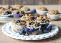 Paleo Banana Blueberry Muffins