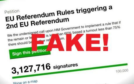 EU petition to re-do Brexit