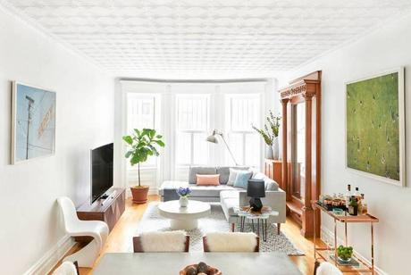 A modern lighthearted and comfortable Park Slope Brownstone