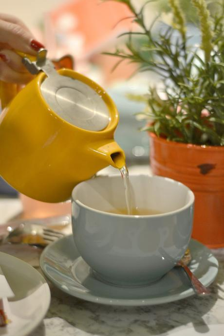 Afternoon tea at Cutter & Squidge's Hello Kitty Secret Garden.