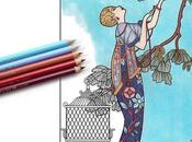 Masters Fashion Illustration Adult Coloring Book
