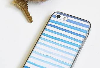 5-Minute Watercolor Phone CasePaperblog