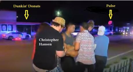 Chris Hansen carrying wounded toward Pulse