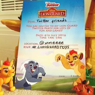 Lion Guard Twitter Party Fun