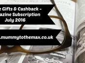Magazine Subscription Free Gift Bargains July 2016