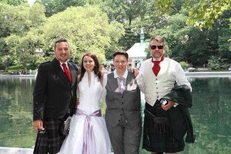 RD wedding central park group