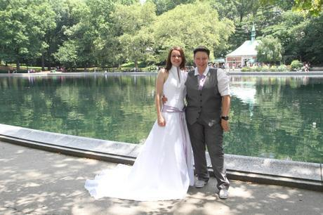 RD wedding central park conservatory water