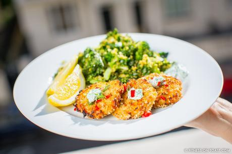 Fishcakes Fitness On Toast Healthy Recipe Delicious Fish cake cooking easy diet preparation tasty nutrition
