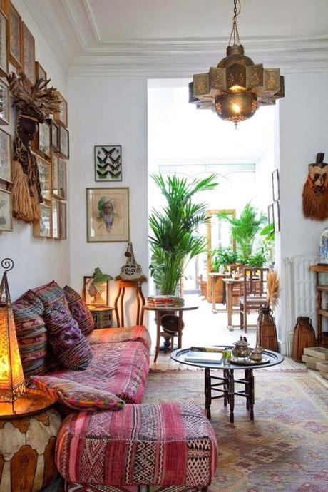 Beautiful Bohemian Interiors!