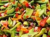 Chunky Bell Pepper Guacamole Salad
