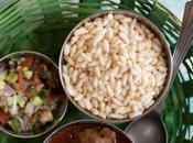 MUDHI MANSA Puffed Rice with Goat Meat Curry