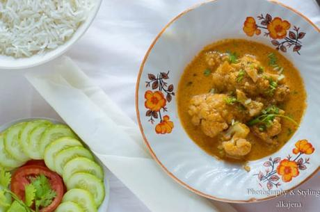 Thai Red Curry with Cauliflower