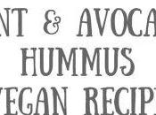Mint Avocado Hummus Recipe Vegan