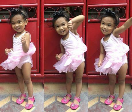 Little Miss Ballerina and The Halili- Cruz School of Ballet