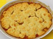 Biscuit Topped Peach Cobbler #SundaySupper