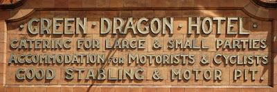 Ghost signs (122): Hertford's Green Dragon Hotel
